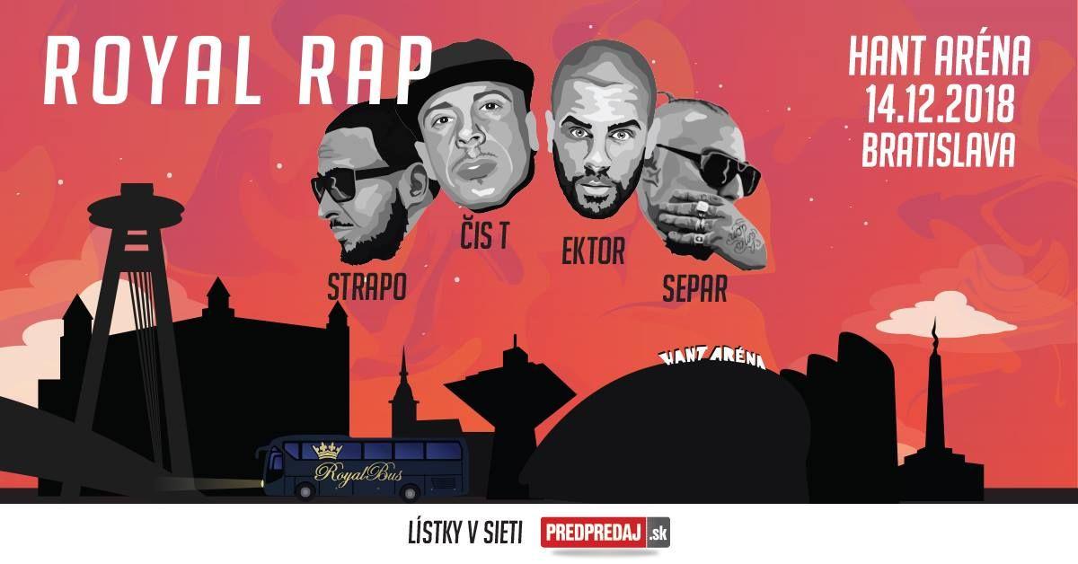 Ako bude vyzerať najväčšia zimná hiphopová udalosť Royal Rap?